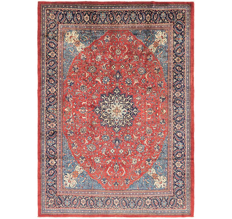 9' 9 x 13' 8 Sarough Persian Rug