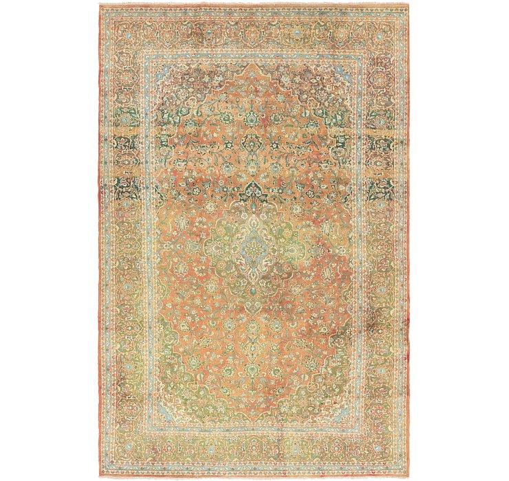 9' 9 x 14' 4 Mashad Persian Rug