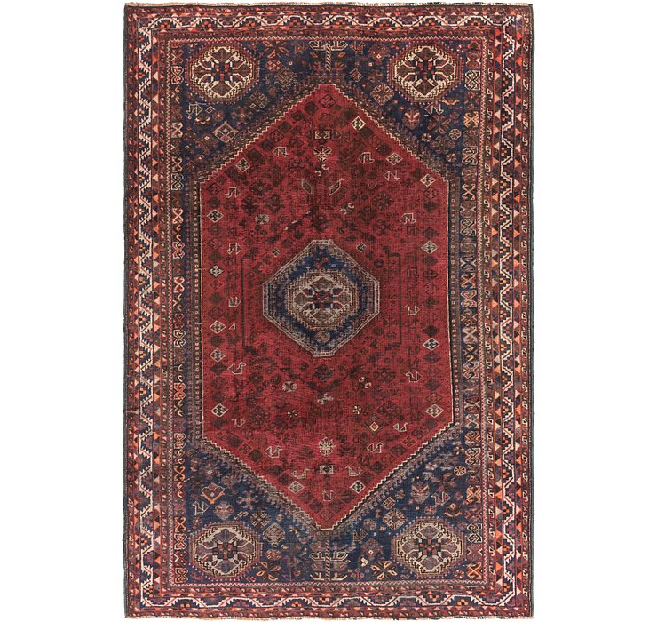 7' x 10' 7 Shiraz Persian Rug