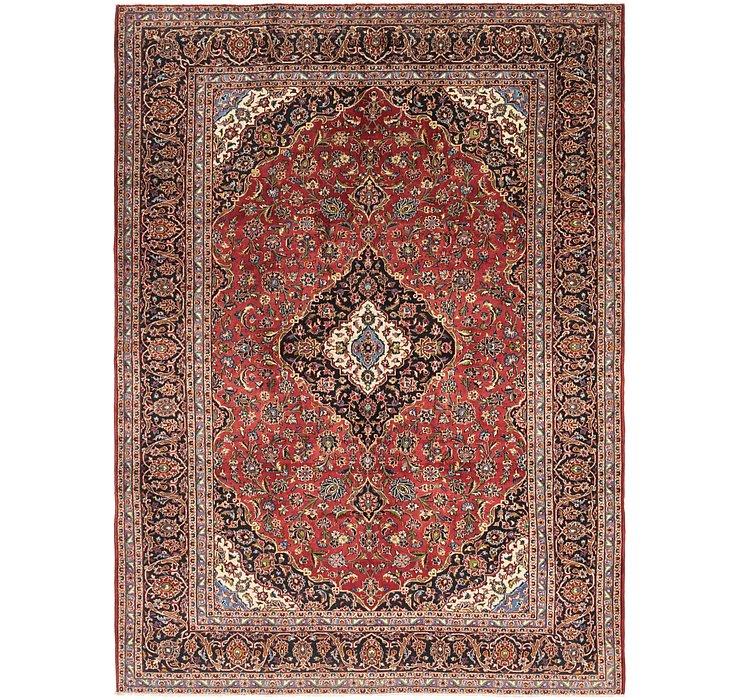 9' 9 x 13' 2 Kashan Persian Rug