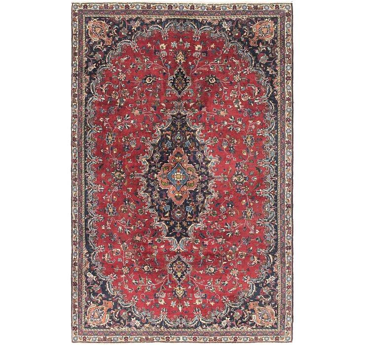 188cm x 290cm Mashad Persian Rug