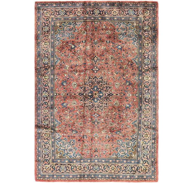 7' x 10' 2 Mahal Persian Rug