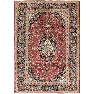 Link to 208cm x 290cm Kashan Persian Rug page
