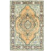Link to 6' 6 x 9' 9 Tabriz Persian Rug
