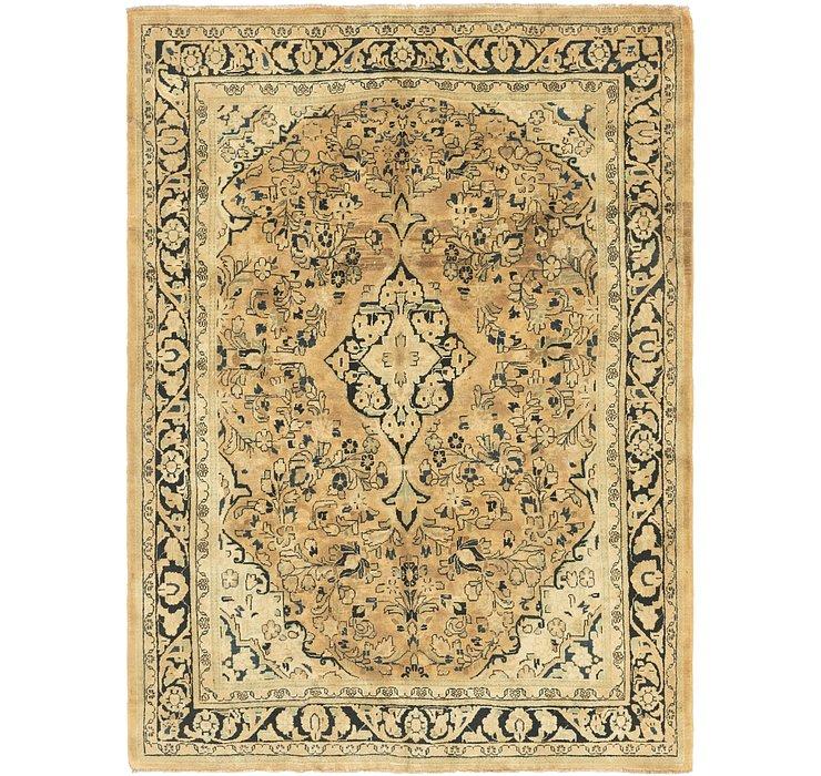 7' 4 x 10' 5 Meshkabad Persian Rug