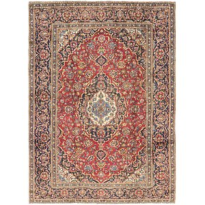 HandKnotted 8' x 11' Kashan Persian Rug
