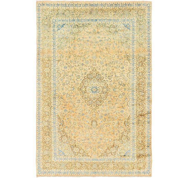 9' 9 x 14' 8 Kashan Persian Rug