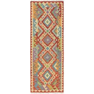 Link to 70cm x 200cm Kilim Maymana Runner Rug item page