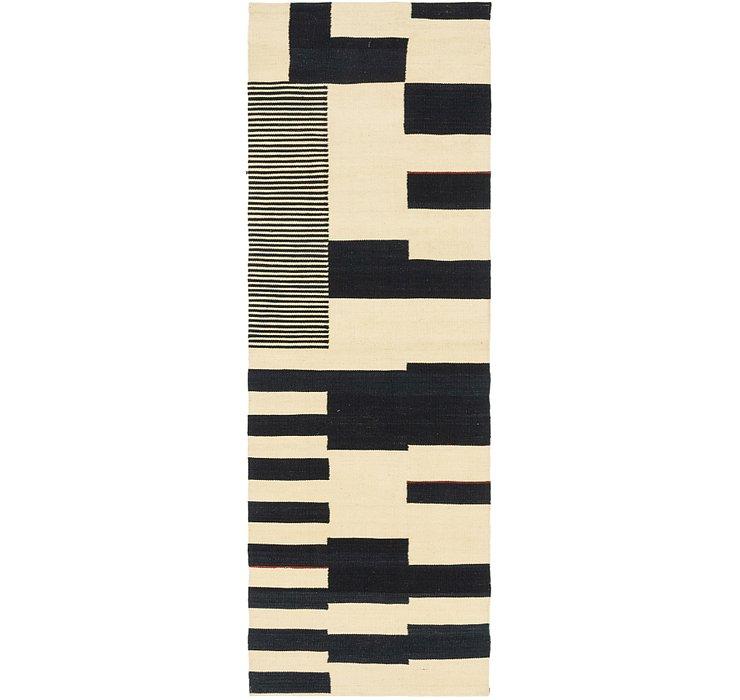 2' 8 x 8' 2 Kilim Modern Runner Rug