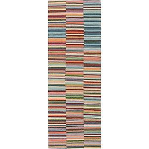 Unique Loom 2' 9 x 8' Kilim Modern Runner Rug