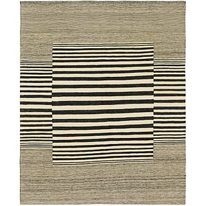Unique Loom 5' 10 x 7' 6 Kilim Modern Rug