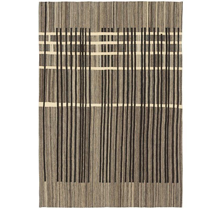 5' 7 x 8' 2 Kilim Modern Rug