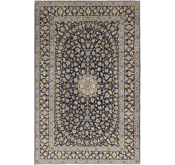 10' x 16' 4 Kashan Persian Rug