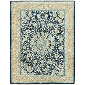 Link to 323cm x 405cm Kashan Persian Rug page