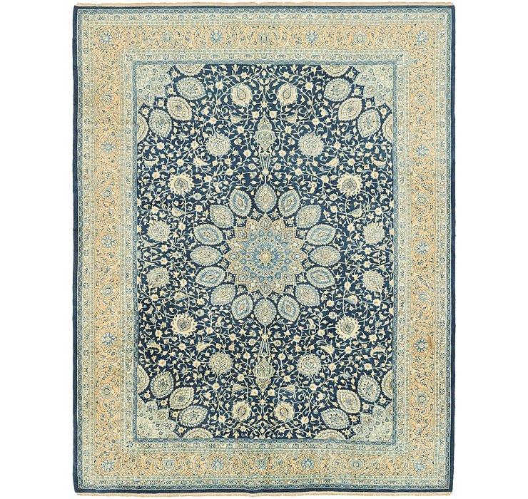 10' 7 x 13' 3 Kashan Persian Rug