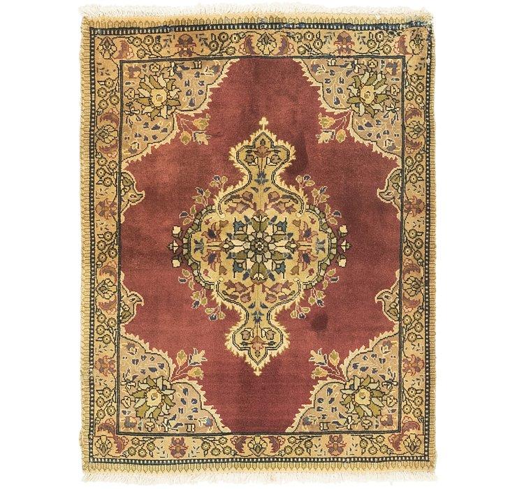 3' 5 x 4' 8 Tabriz Persian Rug