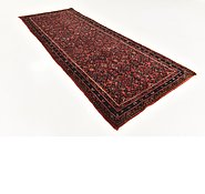 Link to 3' 8 x 9' 8 Shahsavand Persian Runner Rug