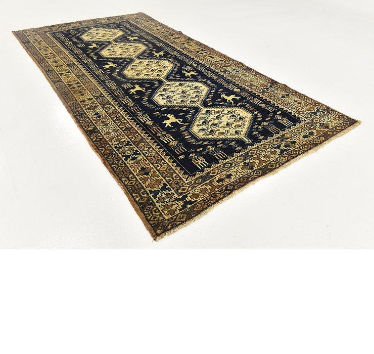 5' x 9' 4 Shahsavand Persian Runn...