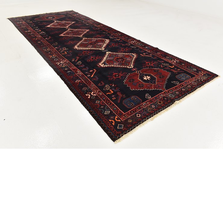 5' x 13' Roodbar Persian Runner ...