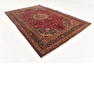 Link to 193cm x 290cm Mashad Persian Rug item page