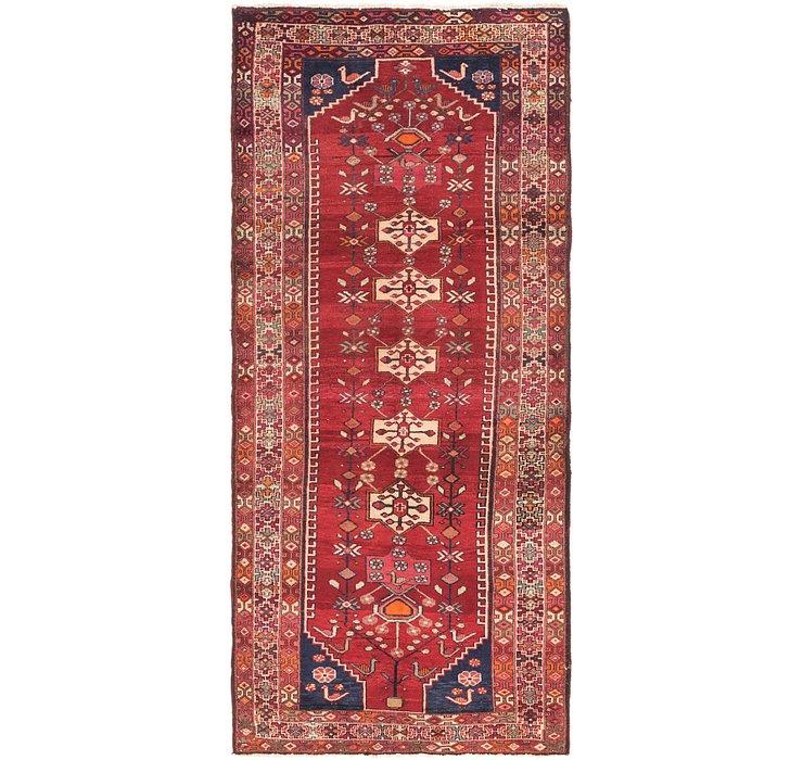 4' 2 x 9' 9 Shahsavand Persian Runn...