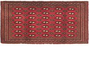 Link to 2' 2 x 4' 5 Torkaman Persian Runner Rug