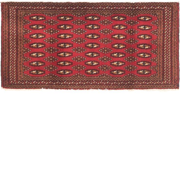 65cm x 135cm Torkaman Persian Runner...