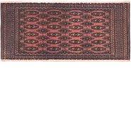 Link to 1' 6 x 3' 5 Torkaman Persian Rug