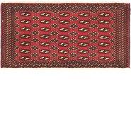 Link to 1' 10 x 3' 7 Torkaman Persian Rug