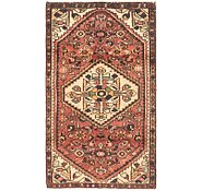 Link to 2' 5 x 4' 5 Hossainabad Persian Rug