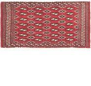 Link to 53cm x 100cm Torkaman Persian Rug