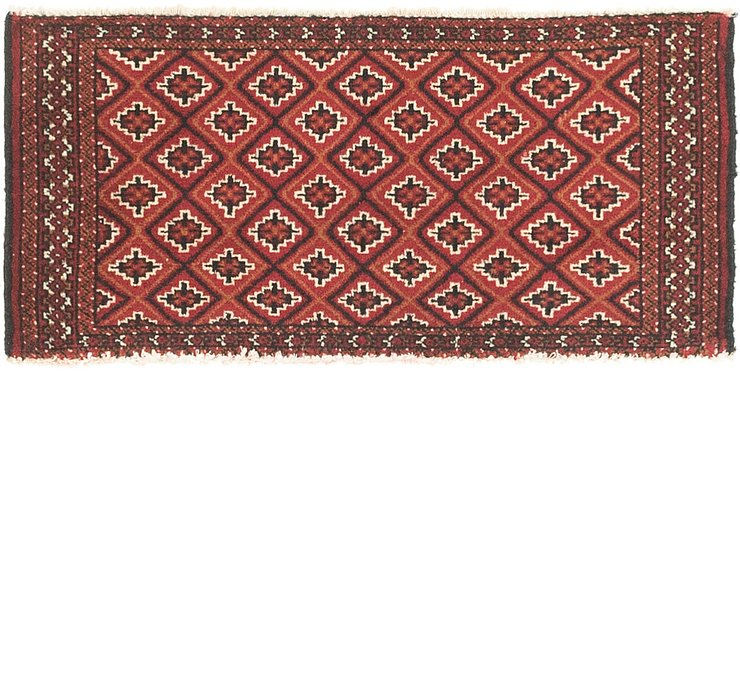 50cm x 105cm Torkaman Persian Rug