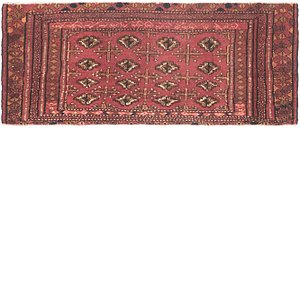 Link to 48cm x 117cm Torkaman Persian Rug item page