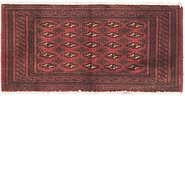 Link to 1' 7 x 3' 3 Torkaman Persian Rug