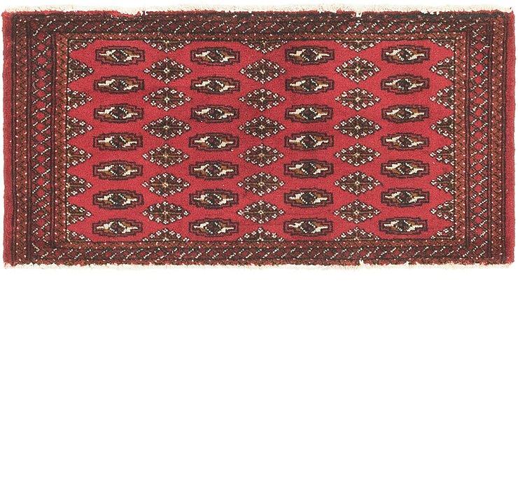 1' 10 x 3' 9 Torkaman Persian Rug