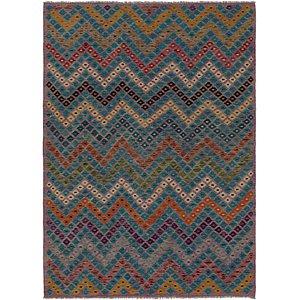 Link to 205cm x 287cm Kilim Modern Rug item page