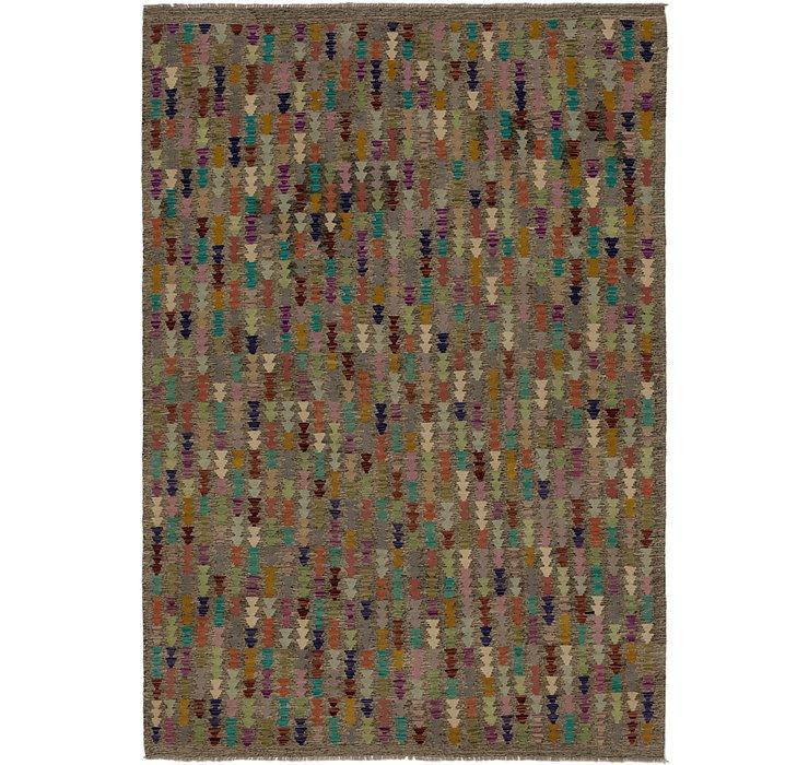 6' 10 x 9' 6 Kilim Modern Rug