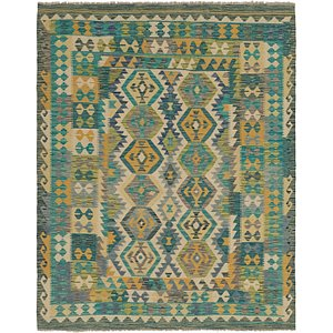 Link to 6' 4 x 8' 2 Kilim Modern Rug item page