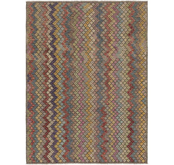 7' x 9' 7 Kilim Modern Rug