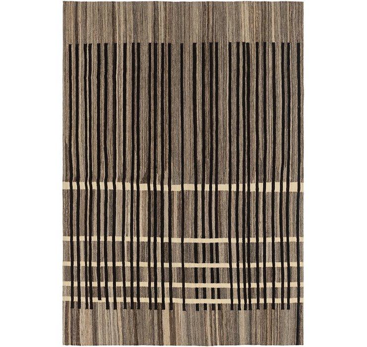 5' 8 x 8' 2 Kilim Modern Rug