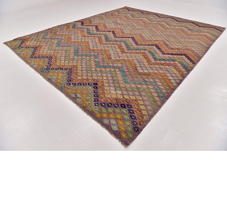 8' 10 x 11' 3 Kilim Modern Rug
