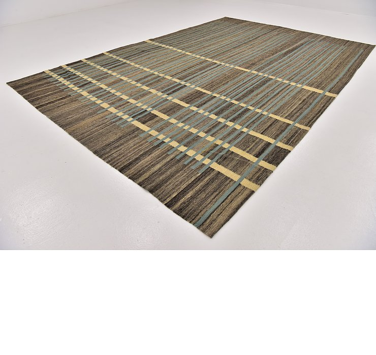 8' x 12' Kilim Modern Rug