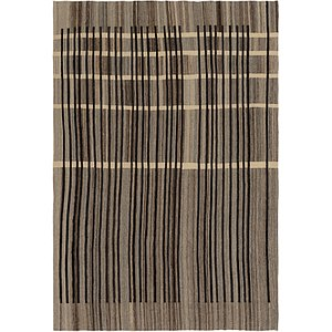 Unique Loom 7' 8 x 11' 3 Kilim Modern Rug
