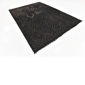 Unique Loom 7' x 10' Kilim Maymana Rug