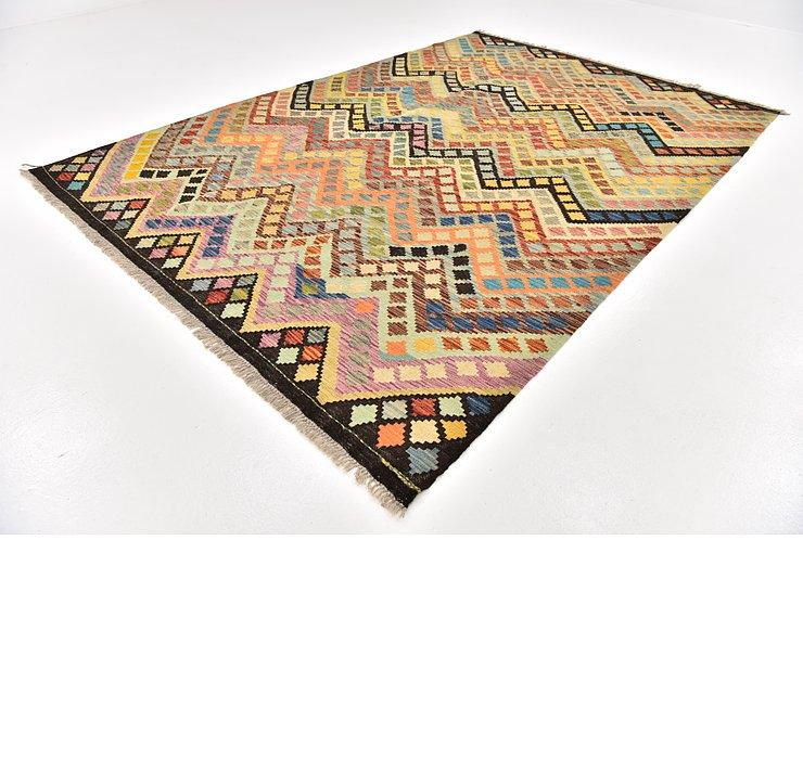 6' 10 x 10' Kilim Modern Rug