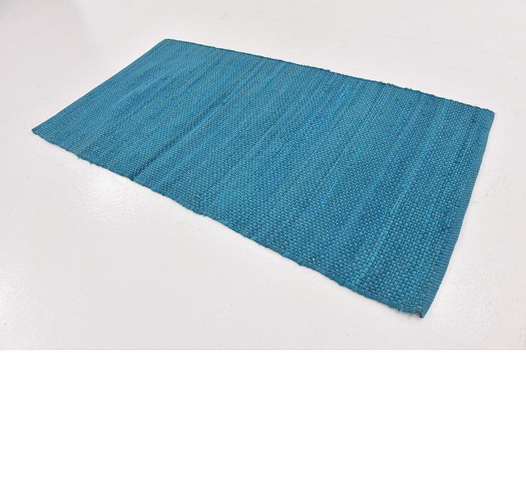 2' 8 x 5' Chindi Cotton Rug