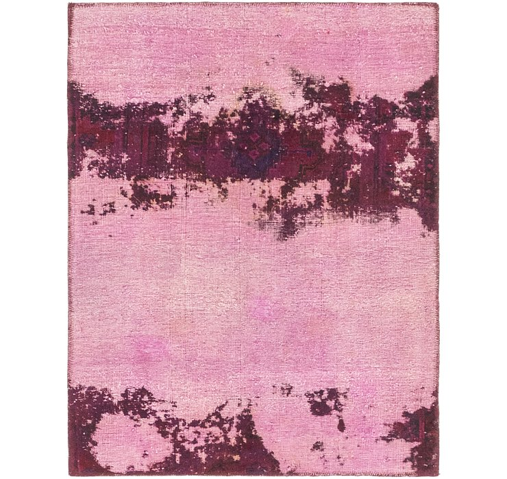 97cm x 127cm Ultra Vintage Persian Rug