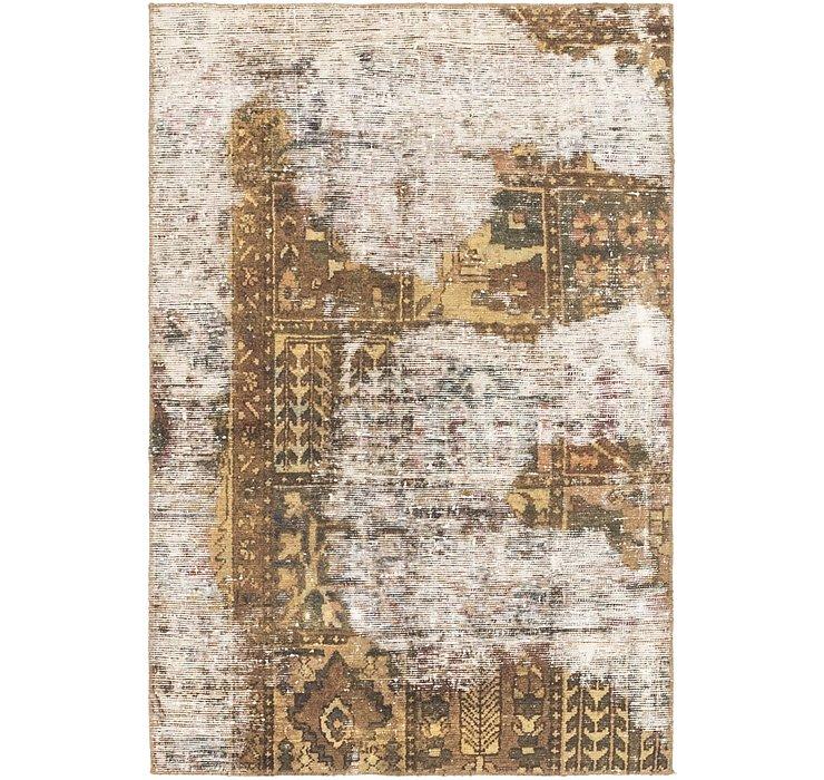 3' 4 x 5' Ultra Vintage Persian Rug
