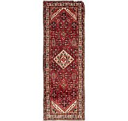 Link to 110cm x 312cm Hossainabad Persian Runner Rug