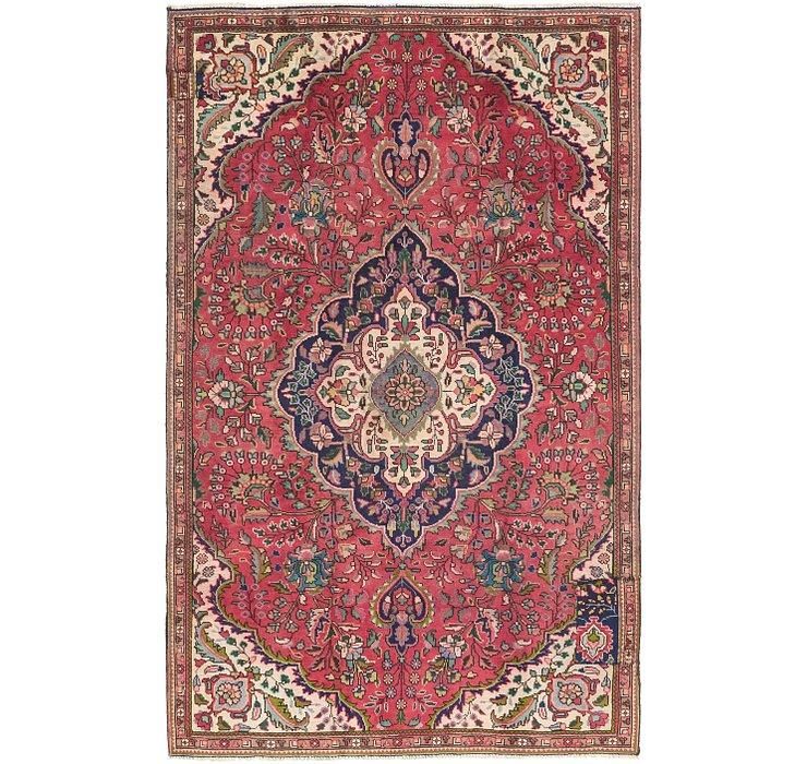 5' x 8' 3 Tabriz Persian Rug